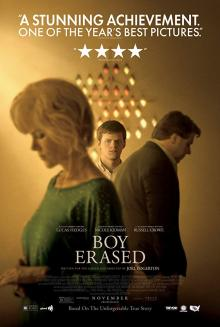 Films, June 22, 2019, 06/22/2019, Boy Erased (2018): Drama With Nicole Kidman And Russell Crowe