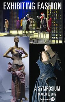 Symposiums, March 08, 2019, 03/08/2019, Exhibiting Fashion