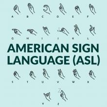 Lessons, July 15, 2019, 07/15/2019, American Sign Language For Beginners