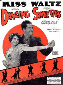 Films, March 20, 2019, 03/20/2019, Dancing Sweeties (1930): Pre-Code Romantic Comedy Of A Dancer Couple