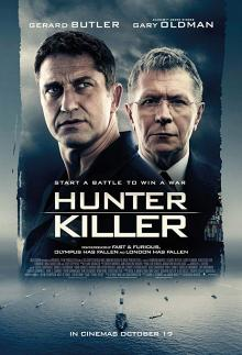 Films, March 14, 2019, 03/14/2019, Hunter Killer (2018): U.S. Navy Trying To Rescue The Russian President