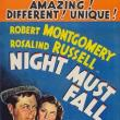 Films, March 27, 2019, 03/27/2019, Night Must Fall (1937): Two Time Oscar Nominated Mystery Drama