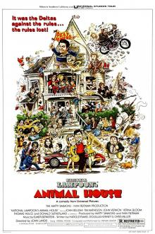 Films, April 05, 2019, 04/05/2019, Animal House (1978): Comedy On Fraternity Members Challenging The Authority