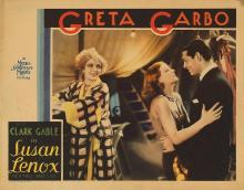 Films, April 08, 2019, 04/08/2019, Susan Lenox (Her Fall and Rise) (1931): Romantic Drama Starring Greta Garbo And Clark Gable