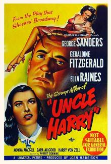 Films, April 11, 2019, 04/11/2019, The Strange Affair of Uncle Harry (1945): Film-Noir Drama Based On A Play