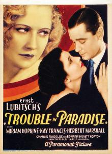 Films, April 18, 2019, 04/18/2019, Trouble in Paradise (1932): Thief And Pickpocket Join Forces
