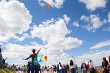Festivals, May 11, 2019, 05/11/2019, Lift Off: A Waterfront Kite Festival