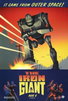 Films, April 24, 2019, 04/24/2019, The Iron Giant (1999): Agent Wants To Destroy A Robot Friend