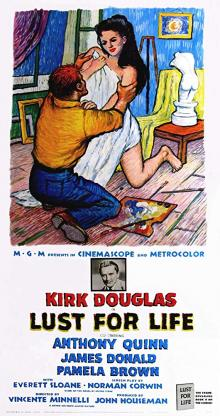 Films, April 11, 2019, 04/11/2019, Lust for Life (1956) With Kirk Douglas And Anthony Quinn: Oscar Winning Story Of Vincent Van Gogh