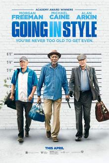 Films, May 02, 2019, 05/02/2019, Going in Style (2017): Lifelong Friends Plan To Rob A Bank After Their Pensions Cancelled