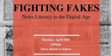 Workshops, April 16, 2019, 04/16/2019, Fighting Fakes: News Literacy in the Digital Age
