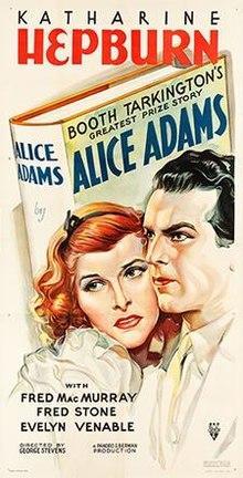 Films, May 23, 2019, 05/23/2019, Oscar Nominated Alice Adams (1935): Comedy Drama Based On A Novel