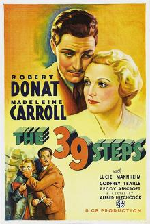 Films, May 03, 2019, 05/03/2019, The 39 Steps (1935): Thriller By Alfred Hitchcock