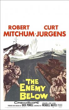 Films, May 20, 2019, 05/20/2019, The Enemy Below (1957): Struggle Between United States And German Forces In Second World War