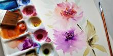 Workshops, May 08, 2019, 05/08/2019, May Flowers Painting Workshop