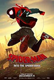 Movie in a Parks, July 12, 2019, 07/12/2019, Spider-Man: Into the Spider-Verse (2018): Oscar-Winning Animated Superheroics (Outdoors)