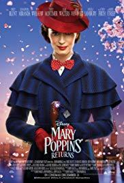 Films, June 22, 2019, 06/22/2019, Mary Poppins Returns (2018): Magical Nanny's Second Act (Outdoors)