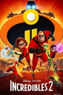 Movie in a Parks, May 24, 2019, 05/24/2019, Incredibles 2 (2018): Animated Blockuster