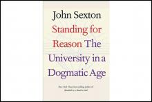 Author Readings, May 08, 2019, 05/08/2019, Standing for Reason: The University in a Dogmatic Age