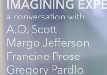 Discussions, May 08, 2019, 05/08/2019, Imagining Experience: A Conversation with Pulitzer Winner Margo Jefferson, Times Film Critic A.O. Scott, and More