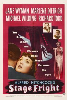 Films, September 25, 2019, 09/25/2019, Stage Fright (1950): Film-Noir Thriller ByAlfred Hitchcock