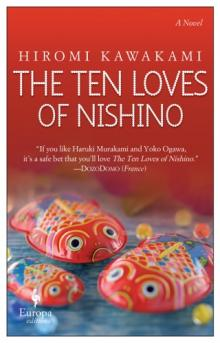 Author Readings, June 05, 2019, 06/05/2019, The Ten Loves of Nishino: Those Who Loved Him