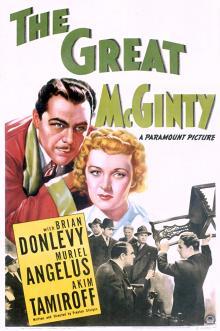 Films, June 13, 2019, 06/13/2019, The Great McGinty (1940): Oscar Winning Political Satire By Preston Sturges