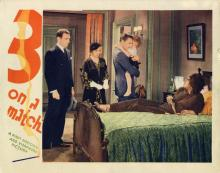 Films, June 20, 2019, 06/20/2019, Three on a Match (1932): DrugsAre The Problem Of A Successful Woman