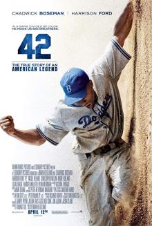 Films, June 18, 2019, 06/18/2019, 42 With Harrison Ford (2013): First African-American Baseball Player In Major League