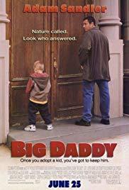 Movie in a Parks, June 17, 2019, 06/17/2019, Big Daddy (1999): With Adam Sandler, Jon Stewart, Steve Buscemi (Outdoors)