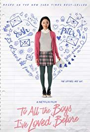 Movie in a Parks, July 01, 2019, 07/01/2019, To All the Boys I've Loved Before (2018): Teen's Love Life Exposed (Outdoors)