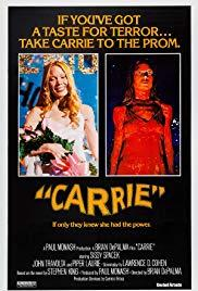 Movie in a Parks, July 08, 2019, 07/08/2019, Brian De Palma's Carrie (1976): With Sissy Spacek, Piper Laurie, Amy Irving (Outdoors)
