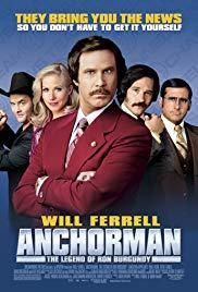 Movie in a Parks, August 05, 2019, 08/05/2019, Anchorman: The Legend of Ron Burgundy (2004): With Will Ferrell, Christina Applegate, Steve Carell
