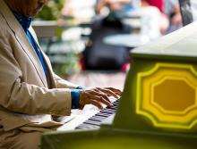Concerts, July 24, 2019, 07/24/2019, Piano in the Park: Ragtime, Stride, and Jazz