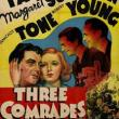 Films, June 27, 2019, 06/27/2019, Three Comrades (1938): Friendship Of Three German Soldiers After WW I