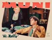 Films, June 24, 2019, 06/24/2019, Hi, Nellie!With Paul Muni (1934): Newspaper Editor Gets ASurprise Story