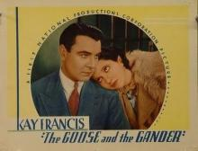 Films, June 05, 2019, 06/05/2019, The Goose and the Gander (1935): Ex-wife Is After New Wife