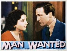 Films, July 01, 2019, 07/01/2019, Man Wanted (1932): Married Editor Falls In Love With Her Secretary