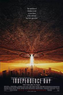 Films, July 05, 2019, 07/05/2019, Oscar Winning Independence Day With Will Smith (1996): Aliens Are Coming