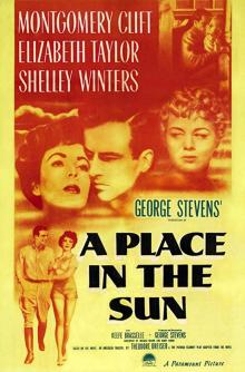 Films, July 18, 2019, 07/18/2019, A Place in the Sun (1951) With Elizabeth Taylor : Six Time Oscar Winning Drama