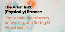 Discussions, June 13, 2019, 06/13/2019, The Artist Isn't (Physically) Present: Women in Digital Art