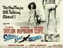 Films, June 26, 2019, 06/26/2019, Suddenly, Last Summer With Elizabeth Taylor, Katharine Hepburn (1959): Three Time Oscar Nominated Drama