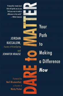 Author Readings, June 13, 2019, 06/13/2019, Dare to Matter: Your Path to Making a Difference Now