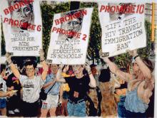 Opening Receptions, June 16, 2019, 06/16/2019, Mourn the Dead, Fight Like Hell For the Living: The Legacy of AIDS