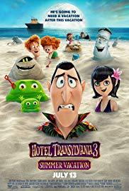 Movie in a Parks, August 02, 2019, 08/02/2019, Hotel Transylvania 3: Summer Vacation (2018): Animated Sequel (Outdoors)