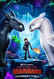 Movie in a Parks, August 16, 2019, 08/16/2019, How to Train Your Dragon: The Hidden World (2019): Animated Adventure (Outdoors)