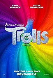 Movie in a Parks, August 23, 2019, 08/23/2019, Trolls (2016): Animated Adventure (Outdoors)