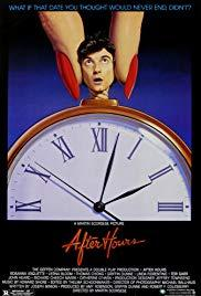 Movie in a Parks, July 12, 2019, 07/12/2019, Martin Scorsese's After Hours (1985): Crime Comedy (Outdoors)