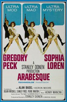 Films, July 13, 2019, 07/13/2019, Arabesque (1966): Story Of International Intrigue With Sophia Loren And Gregory Peck