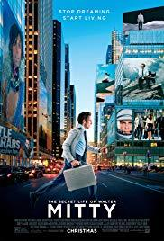 Movie in a Parks, August 21, 2019, 08/21/2019, The Secret Life of Walter Mitty (2013): Comedy Remake with Ben Stiller, Kristen Wiig (Outdoors)
